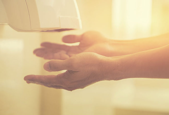 Efficient Electric Hand Dryers