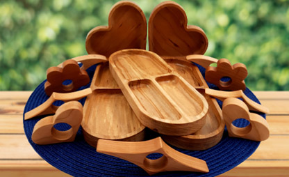 display-of-whimsical-wood-gifts